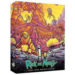 1000 PC Puzzle: Rick & Morty- Rickverse