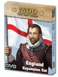 1500 The New World: England Expansion Set