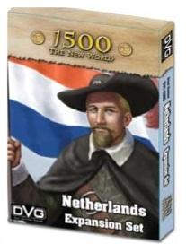 1500 The New World: Netherlands Expansion Set