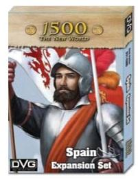 1500 The New World: Spain Expansion Set
