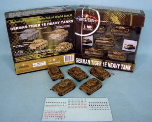 Point of Contact: 15mm German Tiger IE Tank: PrePainted Green/ Brown Camo