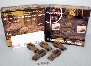 Point of Contact: 15mm US M3A1 Halftrack: PrePainted Olive Drab Green