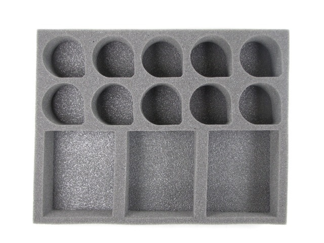 Battlefoam: WH40K: Imperial Guard: Tray: 20 Heavy Weapons