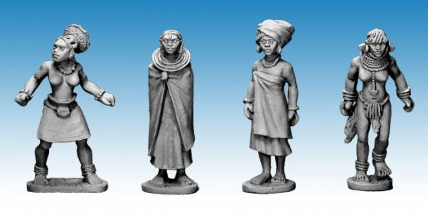 28mm Modern: African Princesses