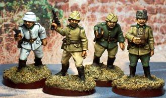 Cobblestone Castings 28mm: WW1 Turkish Officers