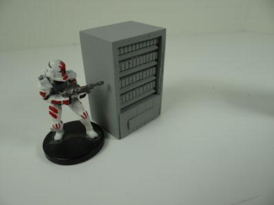 JR Miniatures - 28mm Sci-Fi Terrain: Candy Machine #JRM8005