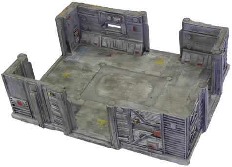 28mm Sci-Fi Terrain: Large Outpost Room
