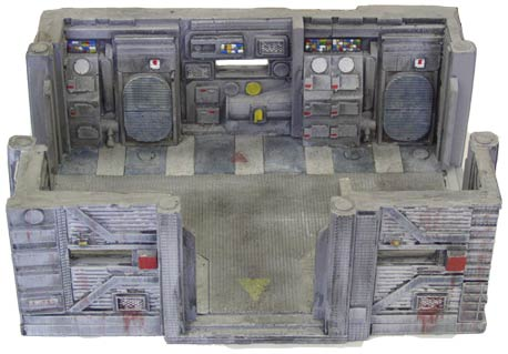28mm Sci-Fi Terrain: Medium Outpost Room