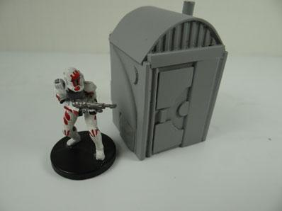 28mm Sci-Fi Terrain: Port-a-Potty