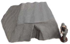 28mm WWII Terrain: Large Tent (2)