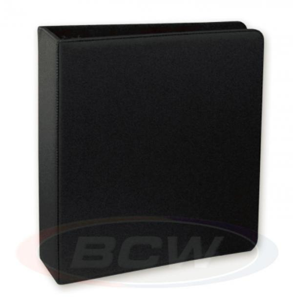 "3"" Hockey Collectors Album- Premium Black"