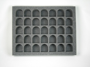 "Battlefoam: WH40K: Chaos Space Marines/ Space Marine: Tray: 35 Terminator (2.5"" Version)"