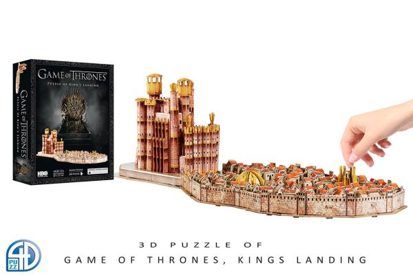 4D Cityscape Puzzle: Game Of Thrones- Kings Landing