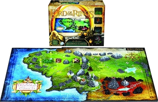 4D Cityscape Puzzle: The Lord Of The Rings- Middle Earth