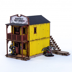 4Ground Miniatures: 28mm American Legends: Main Street Building 3