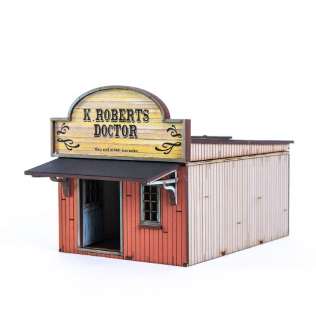 4Ground Miniatures: 28mm American Legends: Side Street Building 2