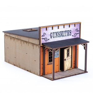4Ground Miniatures: 28mm American Legends: Side Street Building 3