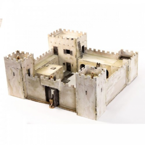 4Ground Miniatures: 28mm Colonial Fort