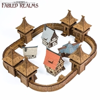 4Ground Miniatures: 28mm Fabled Realms: FYRBURGH Fort