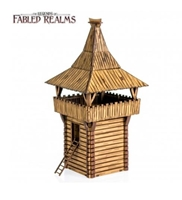 4Ground Miniatures: 28mm Fabled Realms: Teuden League Wooden Tower