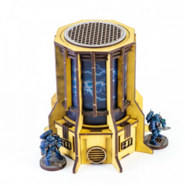 4Ground Miniatures: 28mm Iron Industries: Large Generator (Yellow)
