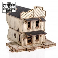 4Ground Miniatures: 28mm The Curse Of Dead Mans Hand: Cursed House #3