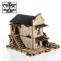 4Ground Miniatures: 28mm The Curse Of Dead Mans Hand: Cursed House #4