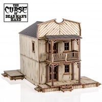 4Ground Miniatures: 28mm The Curse Of Dead Mans Hand: Cursed House #6
