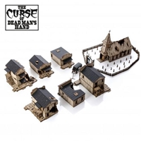 4Ground Miniatures: 28mm The Curse Of Dead Mans Hand: Terrain/Scenery Collection