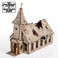 4Ground Miniatures: 28mm The Curse Of Dead Mans Hand: The Cursed Church