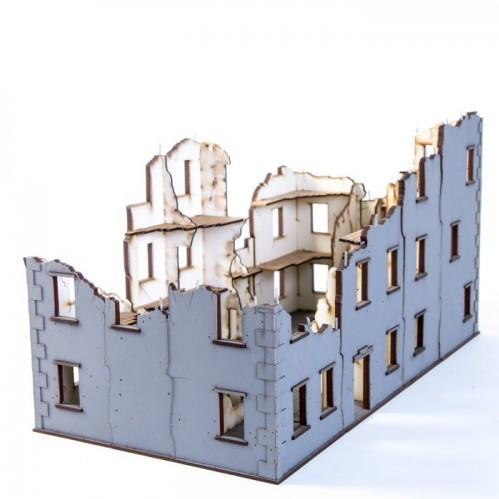 4Ground - 4Ground Miniatures: 28mm World At War: Urban Ruins