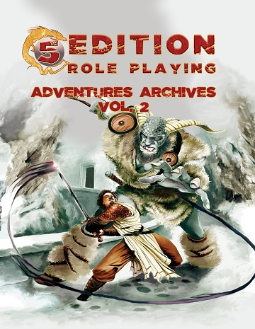 5th Edition Roleplaying: Adventures Archives Vol.2