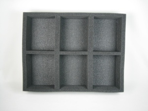 Battlefoam: WH40K: Imperial Guard: Tray: 6 Tanks (BFL-3)