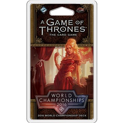 A Game of Thrones Card Game (2nd Edition): 2016 World Champion Deck
