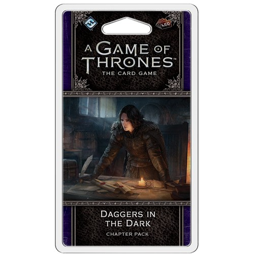 A Game of Thrones Card Game (2nd Edition): Daggers in the Dark Chapter Pack Chapter Pack