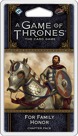 A Game of Thrones Card Game (2nd Edition): For Family Honor [SALE]
