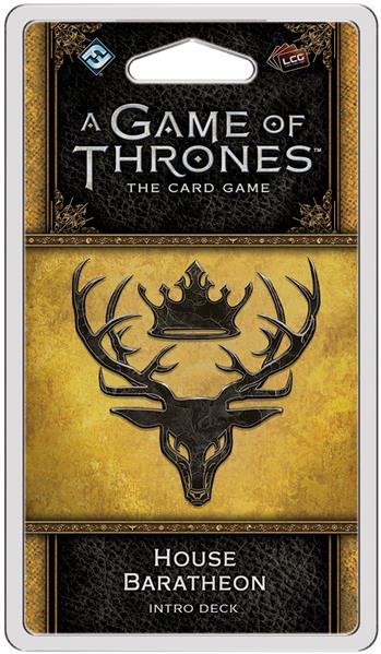 A Game of Thrones Card Game (2nd Edition): House Baratheon Intro Deck