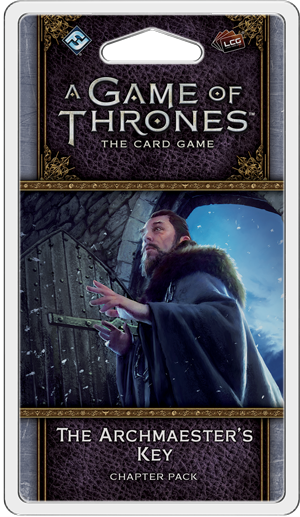 A Game of Thrones Card Game (2nd Edition): The Archmaesters Key