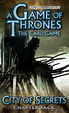 A Game of Thrones LCG: City of Secrets (Revised) (SALE)