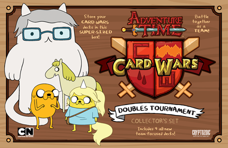 ADVENTURE TIME CARD WARS DOUBLES TOURNAMENT [Damaged]