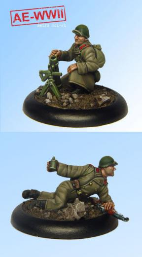 AE-WWII: Soviet Guard 50-PM 40 Mortar Team