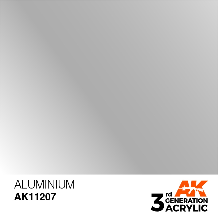 AK-Interactive 3rd Gen Paints: Aluminium