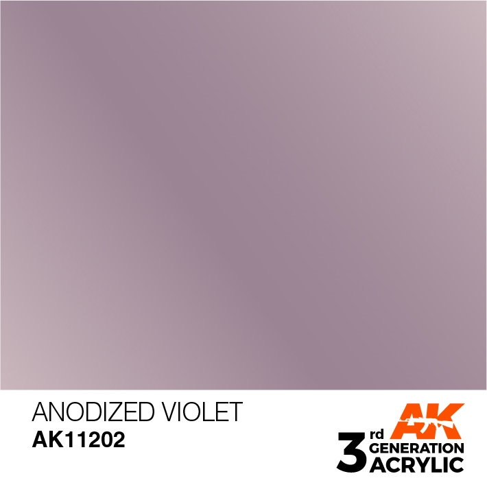 AK-Interactive 3rd Gen Paints: Anodized Violet