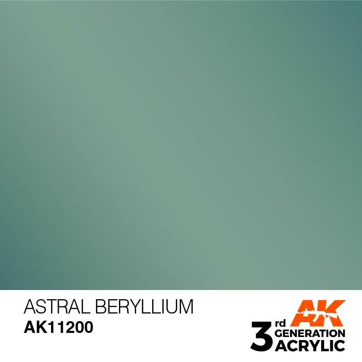 AK-Interactive 3rd Gen Paints: Astral Beryllium