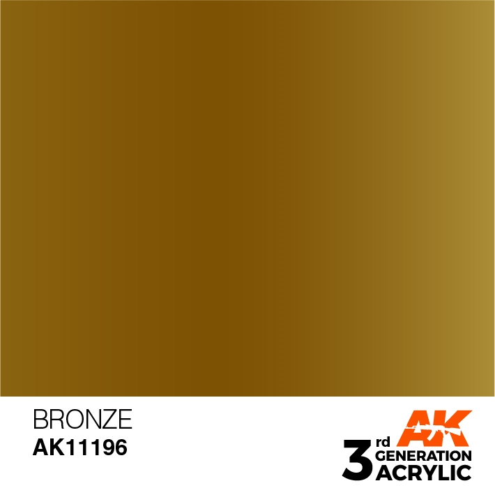 AK-Interactive 3rd Gen Paints: Bronze