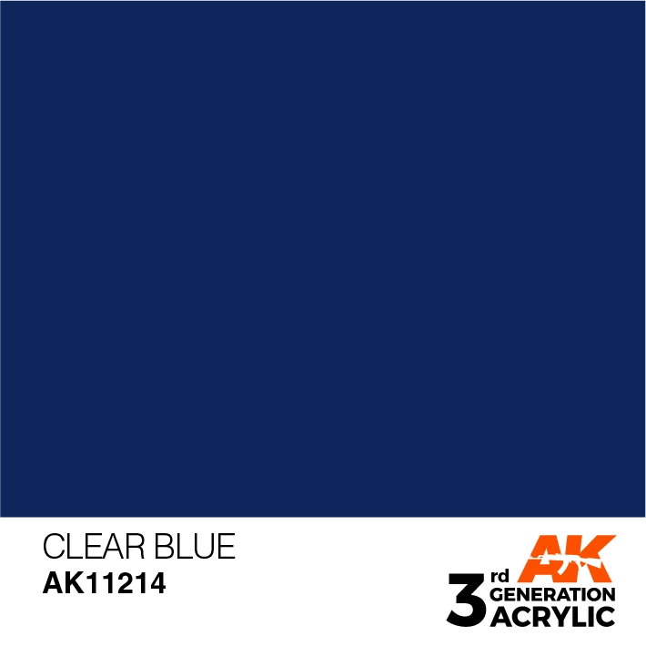 AK-Interactive 3rd Gen Paints: Clear Blue