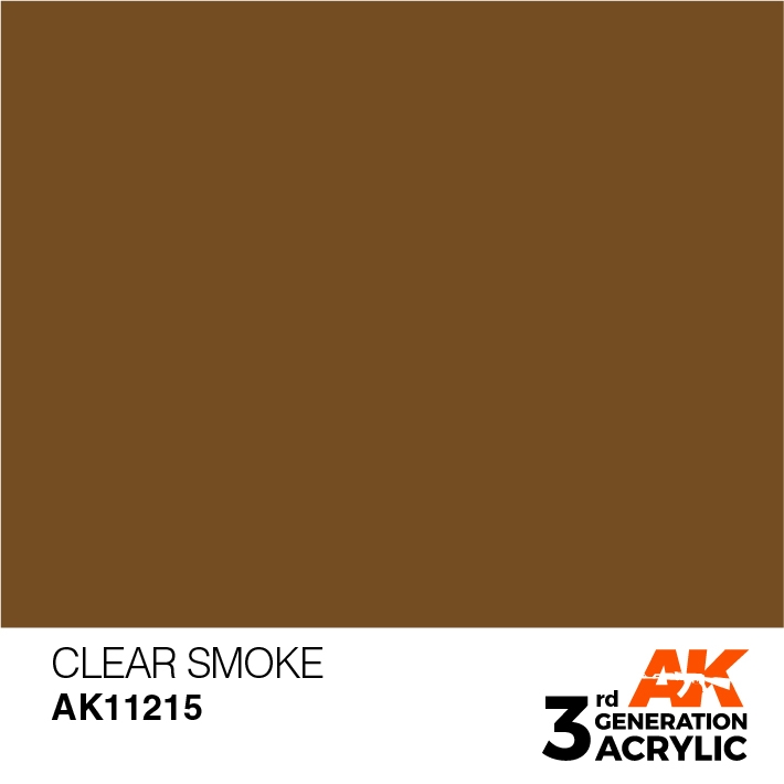 AK-Interactive 3rd Gen Paints: Clear Smoke