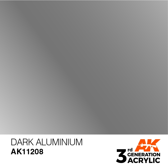 AK-Interactive 3rd Gen Paints: Dark Aluminium