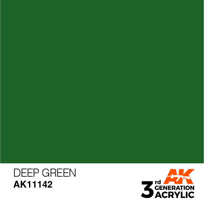 AK-Interactive 3rd Gen Paints: Deep Green