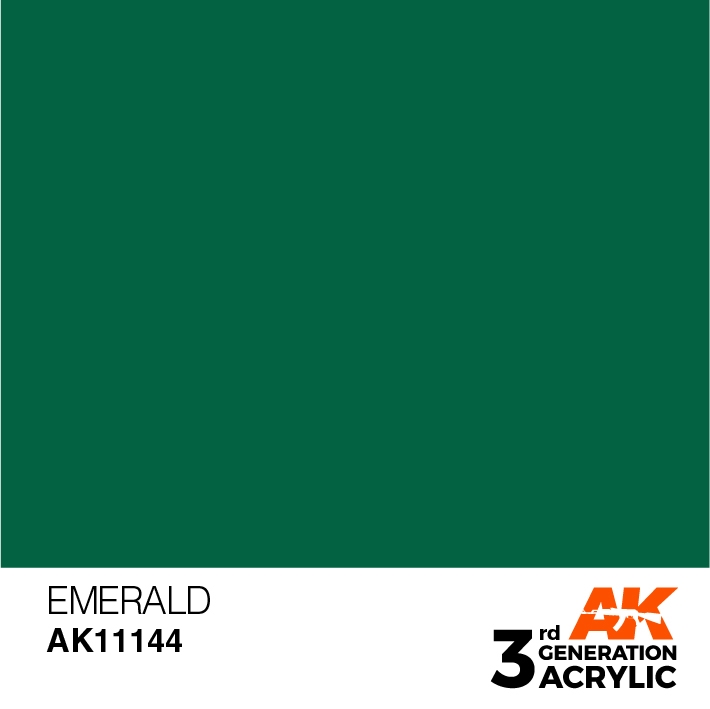 AK-Interactive 3rd Gen Paints: Emerald